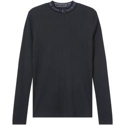 textil Mujer Camisetas manga larga Calvin Klein Jeans J20J215228 Negro