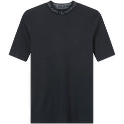 textil Mujer Camisetas manga corta Calvin Klein Jeans J20J215230 Negro