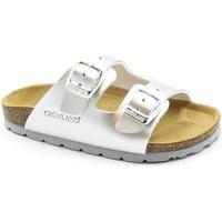 Zapatos Niña Zuecos (Mules) Grunland GRU-E21-CB1462-AR-a Metalizzato