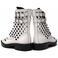 Zapatos Mujer Botines Alpe MILITARE Blanco