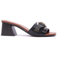 Zapatos Mujer Zuecos (Mules) Alpe VERONA Negro