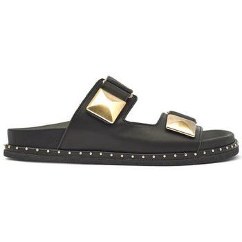 Zapatos Mujer Zuecos (Mules) Alpe BORA BORA Negro