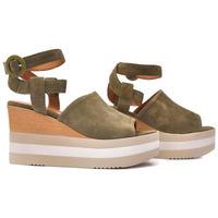 Zapatos Mujer Sandalias Alpe KENYA Verde
