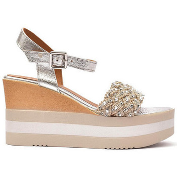Zapatos Mujer Sandalias Alpe KENYA Plata