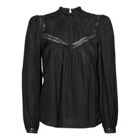 textil Mujer Camisas Ikks CHANFE Negro