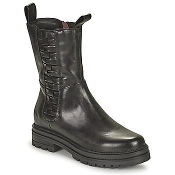 Zapatos Mujer Botas de caña baja Mjus DOBLE SQUARE Negro