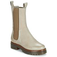 Zapatos Mujer Botas de caña baja Mjus DOBLE CHELS Beige