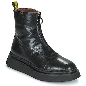 Zapatos Mujer Botas de caña baja Mjus BASE ZIP Negro