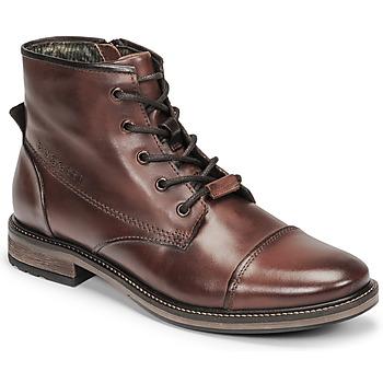 Zapatos Hombre Botas de caña baja Bugatti MARCELLO I Marrón
