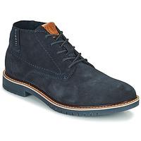 Zapatos Hombre Botas de caña baja Bugatti PLUTONO Marino
