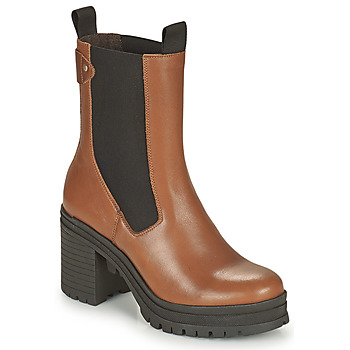 Zapatos Mujer Botines Palladium Manufacture MONA 02 NAP Marrón