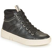 Zapatos Mujer Zapatillas altas Palladium Manufacture TEMPO 03 SYN Negro