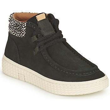 Zapatos Mujer Zapatillas altas Palladium Manufacture TEMPO 10 SUD Negro