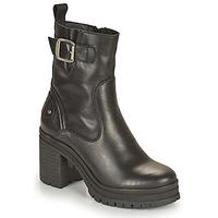 Zapatos Mujer Botines Palladium Manufacture MONA 01 NAP Negro