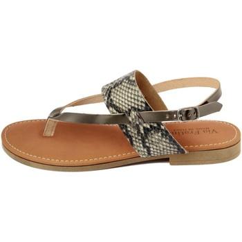 Zapatos Mujer Sandalias Via Fratina  Grigio