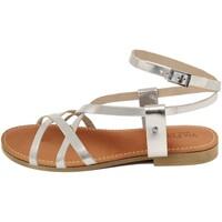 Zapatos Mujer Sandalias Via Fratina  Argento