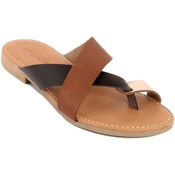 Zapatos Mujer Zuecos (Mules) Via Fratina  Marrone