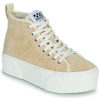 Zapatos Mujer Zapatillas altas No Name IRON MID Beige