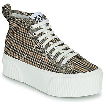 Zapatos Mujer Zapatillas altas No Name IRON MID Marrón
