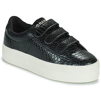 Zapatos Mujer Zapatillas bajas No Name PLATO M STRAPS Negro