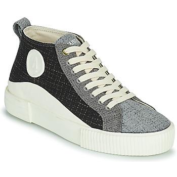 Zapatos Mujer Zapatillas altas Armistice FOXY MID LACE W Negro