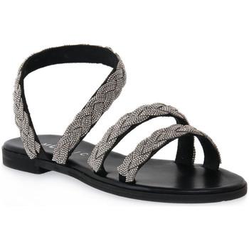 Zapatos Mujer Sandalias Mosaic NERO BRAIDS Nero