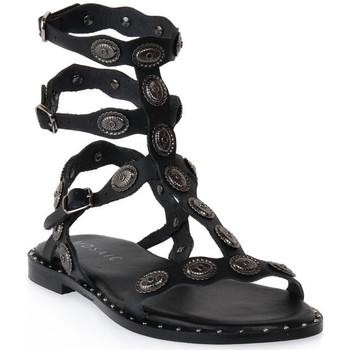 Zapatos Mujer Sandalias Mosaic 3030 VITELLO NERO Nero