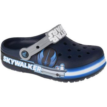 Zapatos Niños Zuecos (Clogs) Crocs Fun Lab Luke Skywalker Lights K Clog Bleu marine