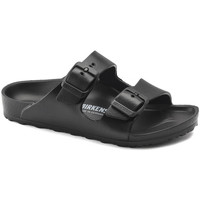 Zapatos Niños Zuecos (Mules) Birkenstock Arizona eva Negro