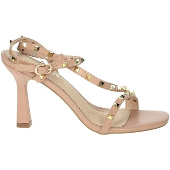 Zapatos Mujer Sandalias Gold & Gold GP49 Rosa polvo