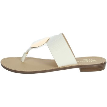 Zapatos Mujer Chanclas Gold & Gold GL632 Blanco