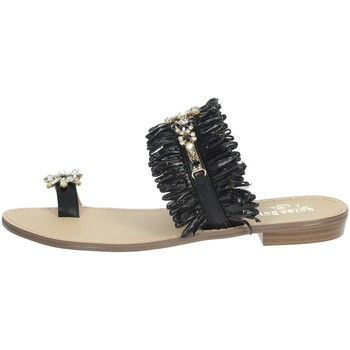 Zapatos Mujer Chanclas Gold & Gold GL613 Negro