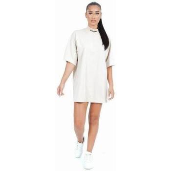 textil Mujer Vestidos cortos Sixth June Robe femme  Col Rond beige