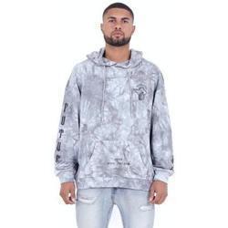 textil Hombre Sudaderas Sixth June Sweatshirt  Custom Tie Dye gris anthracite/rose hibiscus