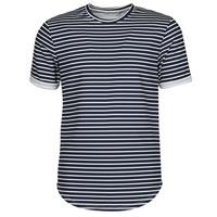 textil Hombre Camisetas manga corta Yurban ORICO Marino / Blanco