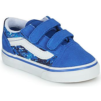 Zapatos Niño Zapatillas bajas Vans OLD SKOOL Azul
