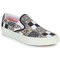 Zapatos Slip on Vans SLIP ON Negro / Blanco / Rosa
