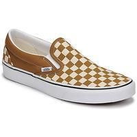 Zapatos Hombre Slip on Vans CLASSIC SLIP ON Marrón / Beige