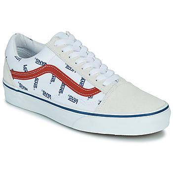 Zapatos Zapatillas bajas Vans OLD SKOOL Blanco / Azul