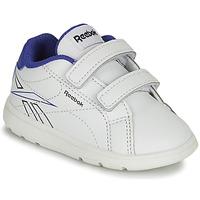 Zapatos Niño Zapatillas bajas Reebok Classic RBK ROYAL COMPLETE Blanco / Azul