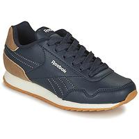 Zapatos Niños Zapatillas bajas Reebok Classic REEBOK ROYAL CLJOG Marino / Marrón
