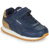 Zapatos Niño Zapatillas bajas Reebok Classic REEBOK ROYAL CLJOG Marino / Marrón