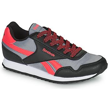 Zapatos Niños Zapatillas bajas Reebok Classic REEBOK ROYAL CLJOG Negro / Rojo