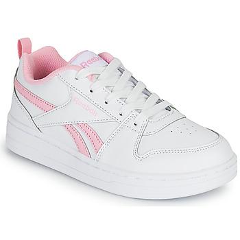 Zapatos Niña Zapatillas bajas Reebok Classic REEBOK ROYAL PRIME Blanco / Rosa