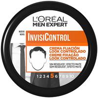 Belleza Hombre Fijadores L'oréal Men Expert Invisicontrol Crema Fijación Nº8  150