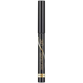 Belleza Mujer Eyeliner Max Factor Perfect 24h Stay Thick And ThinEyeliner Pen 24h 090-black