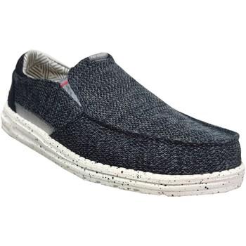 Zapatos Hombre Mocasín Dude Thad sox lienzo marino