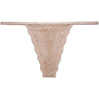 Ropa interior Mujer Strings Underprotection RR1008 LUNA STRING NUDE Beige