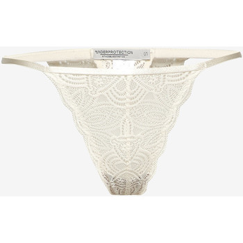 Ropa interior Mujer Strings Underprotection RR1008 LUNA STRING OFF WHITE Beige