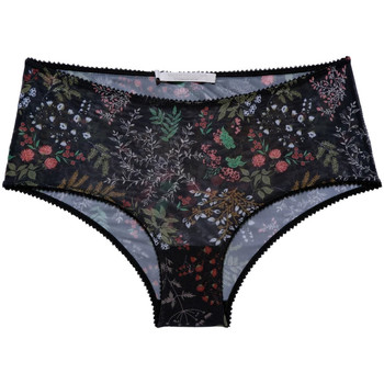 Ropa interior Mujer Culote y bragas Underprotection AW2041 RANIA BLK HIPSTER Negro